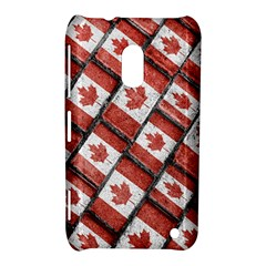 Canadian Flag Motif Pattern Nokia Lumia 620