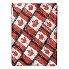 Canadian Flag Motif Pattern Ipad Air Hardshell Cases