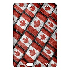 Canadian Flag Motif Pattern Amazon Kindle Fire Hd (2013) Hardshell Case