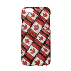 Canadian Flag Motif Pattern Apple Iphone 6/6s Hardshell Case