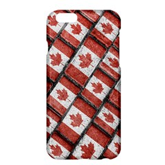 Canadian Flag Motif Pattern Apple Iphone 6 Plus/6s Plus Hardshell Case