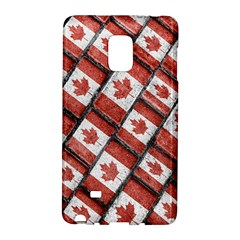 Canadian Flag Motif Pattern Galaxy Note Edge