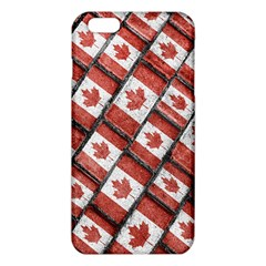 Canadian Flag Motif Pattern Iphone 6 Plus/6s Plus Tpu Case