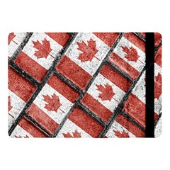 Canadian Flag Motif Pattern Apple Ipad Pro 10 5   Flip Case