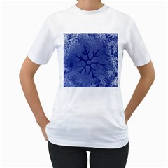 Winter Hardest Frost Cold Women s T Shirt (white)