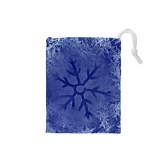 Winter Hardest Frost Cold Drawstring Pouches (small)
