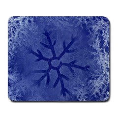 Winter Hardest Frost Cold Large Mousepads