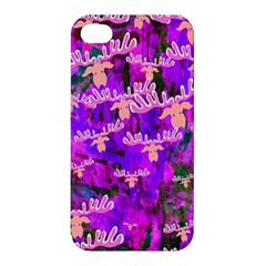 Watercolour Paint Dripping Ink Apple Iphone 4/4s Hardshell Case