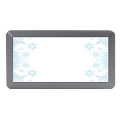 The Background Snow Snowflakes Memory Card Reader (mini)