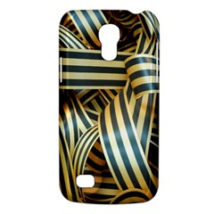 Ribbons Black Yellow Galaxy S4 Mini