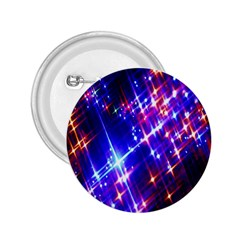 Star Light Space Planet Rainbow Sky Blue Red Purple 2 25  Buttons