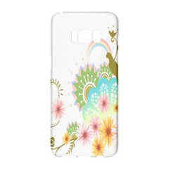 Wreaths Sexy Flower Star Leaf Rose Sunflower Bird Summer Samsung Galaxy S8 Hardshell Case