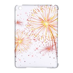 Fireworks Triangle Star Space Line Apple Ipad Mini Hardshell Case (compatible With Smart Cover)