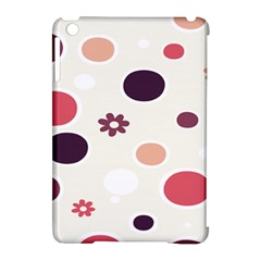 Polka Dots Flower Floral Rainbow Apple Ipad Mini Hardshell Case (compatible With Smart Cover)