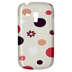 Polka Dots Flower Floral Rainbow Galaxy S3 Mini