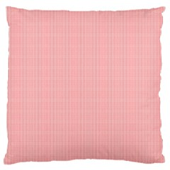 Red Polka Dots Line Spot Standard Flano Cushion Case (two Sides)