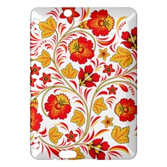 Wreaths Flower Floral Sexy Red Sunflower Star Rose Kindle Fire Hdx Hardshell Case