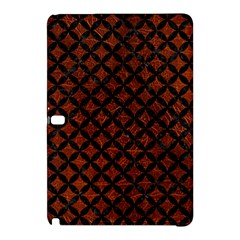 Circles3 Black Marble & Reddish Brown Leather Samsung Galaxy Tab Pro 10 1 Hardshell Case