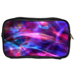 Abstract Shiny Night Lights 5 Toiletries Bags