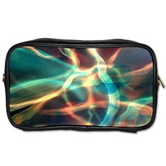 Abstract Shiny Night Lights 11 Toiletries Bags 2 Side