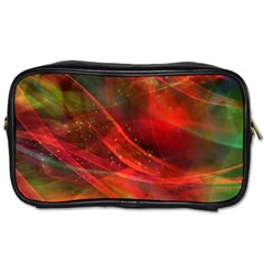 Abstract Shiny Night Lights 12 Toiletries Bags 2 Side