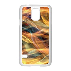 Abstract Shiny Night Lights 15 Samsung Galaxy S5 Case (white)