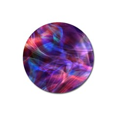Abstract Shiny Night Lights 20 Magnet 3  (round)