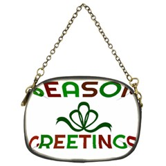 Season Greetings Chain Purses (two Sides)