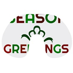 Season Greetings Travel Neck Pillows