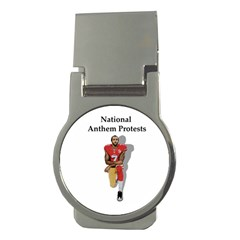 National Anthem Protest Money Clips (round)