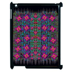 Flowers From Paradise Colors And Star Rain Apple Ipad 2 Case (black)