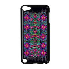 Flowers From Paradise Colors And Star Rain Apple Ipod Touch 5 Case (black)