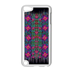 Flowers From Paradise Colors And Star Rain Apple Ipod Touch 5 Case (white)