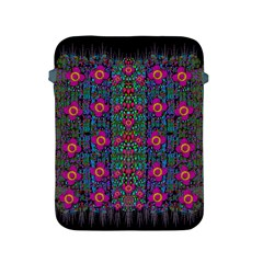 Flowers From Paradise Colors And Star Rain Apple Ipad 2/3/4 Protective Soft Cases
