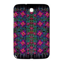 Flowers From Paradise Colors And Star Rain Samsung Galaxy Note 8 0 N5100 Hardshell Case