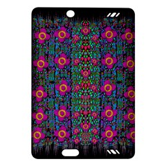 Flowers From Paradise Colors And Star Rain Amazon Kindle Fire Hd (2013) Hardshell Case