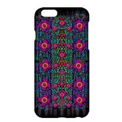 Flowers From Paradise Colors And Star Rain Apple Iphone 6 Plus/6s Plus Hardshell Case
