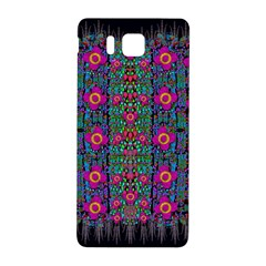 Flowers From Paradise Colors And Star Rain Samsung Galaxy Alpha Hardshell Back Case