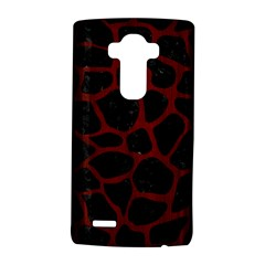 Skin1 Black Marble & Reddish Brown Wood Lg G4 Hardshell Case