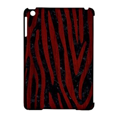 Skin4 Black Marble & Reddish Brown Wood Apple Ipad Mini Hardshell Case (compatible With Smart Cover)