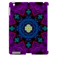 Sunshine Mandala And Fantasy Snow Floral Apple Ipad 3/4 Hardshell Case (compatible With Smart Cover)