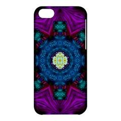 Sunshine Mandala And Fantasy Snow Floral Apple Iphone 5c Hardshell Case