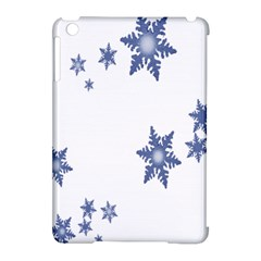 Star Snow Blue Rain Cool Apple Ipad Mini Hardshell Case (compatible With Smart Cover)