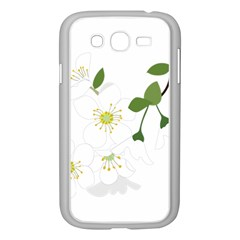 Flower Floral Sakura Samsung Galaxy Grand Duos I9082 Case (white)