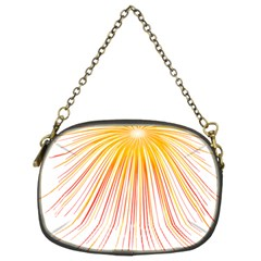 Fireworks Yellow Light Chain Purses (two Sides)