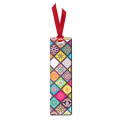 Flower Star Sign Rainbow Sexy Plaid Chevron Wave Small Book Marks