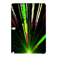 Seamless Colorful Green Light Fireworks Sky Black Ultra Samsung Galaxy Tab Pro 10 1 Hardshell Case