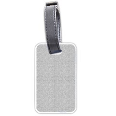 Line Black White Camuflage Polka Dots Luggage Tags (one Side)