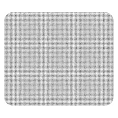 Line Black White Camuflage Polka Dots Double Sided Flano Blanket (small)