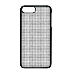 Line Black White Camuflage Polka Dots Apple Iphone 7 Plus Seamless Case (black)